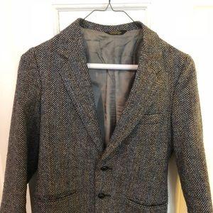 Vintage tweed blazer (boy cut)